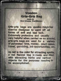 Authentic Voodoo Gris Gris Bag for Gambling