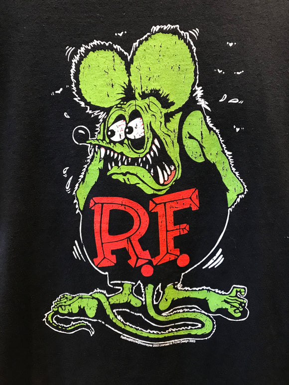 Classic hot rod culture icon Rat Fink