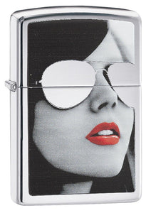 Girl with Sunglasses Lighter