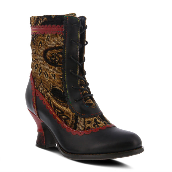 BEWITCH BOOT IN BLACK-MULTI