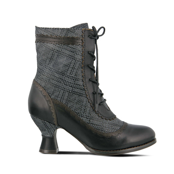 Bewitch Plaid Boot - Black - LAST PAIR!