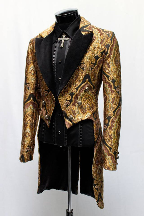Gold Brocade Tailcoat