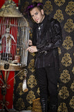SHRINE BROCADE TAILCOAT BLACK