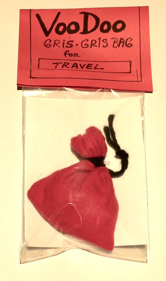 Authentic Voodoo Gris Gris Bag for Travel
