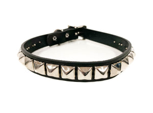 Large Pyramid Studded Choker