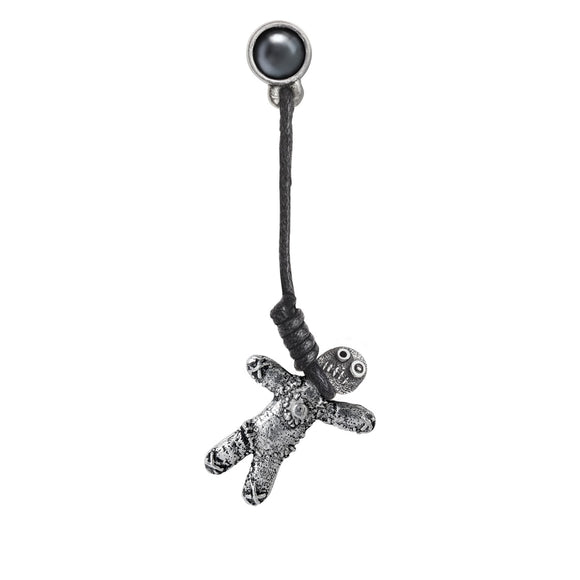 Voodoo Doll Ear Stud
