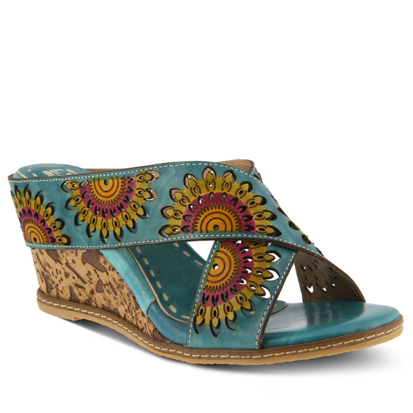 Enticing Sandal - Turquoise