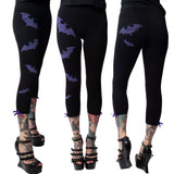 Bat-tastic Capri Leggings