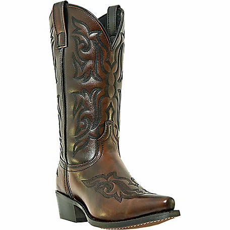 HAWK COLLECTION BROWN GOLD WESTERN BOOT