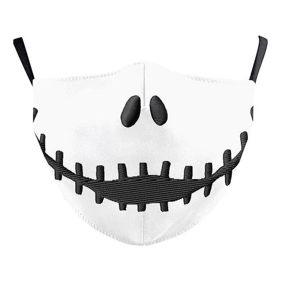 Pumpkin King Washable Mask