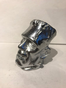Silver Frankenstein Gear Shift Knob