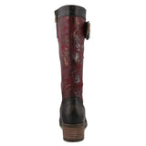 Kisha Black Rose Boot
