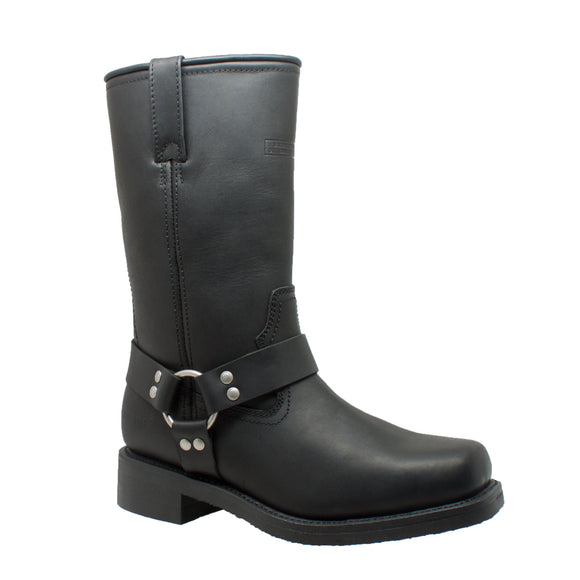 LEATHER MOTORCYCLE HARNESS BOOT