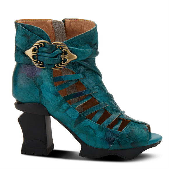 Nesgara Shootie - Teal Multi