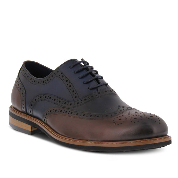 Niko Men's Oxford - Navy Multi