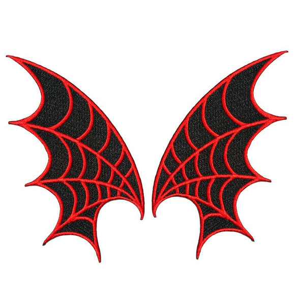 Web Wings Patches