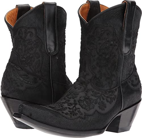 ROMANTIC BLACK MIGISSI ANKLE BOOT