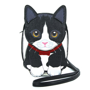 Black and White Cat Bag