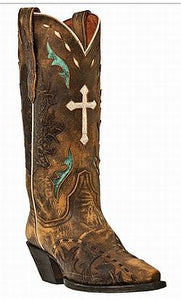 VINTAGE CROSS SNIP STYLE BOOTS