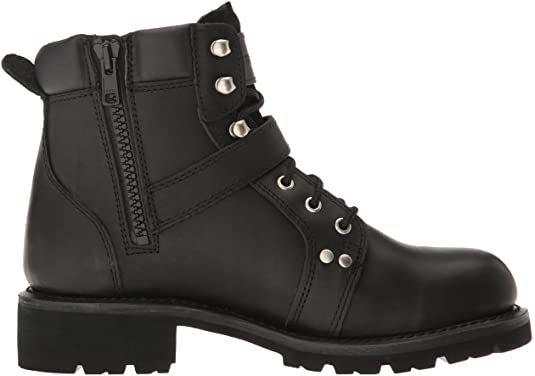 ZIPPER LACE BOOT