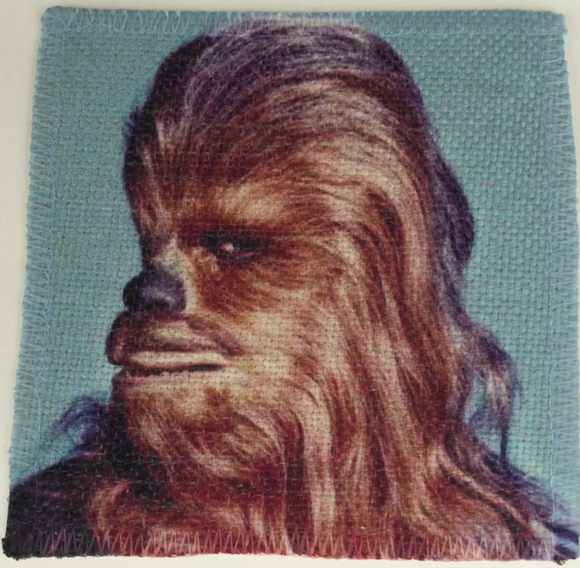 Chewbacca Linen Patch