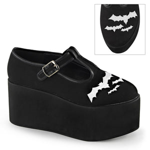 Black Canvas Bat Platforms