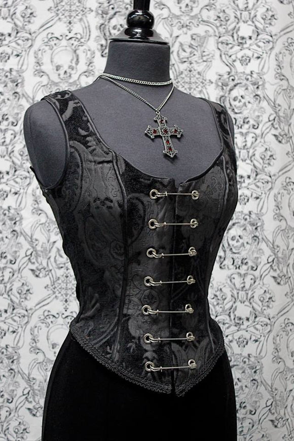Black Pin Bodice