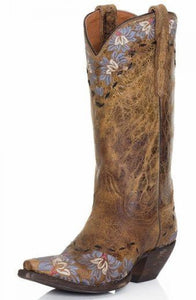 DAISY BLUE COWGIRL BOOTS