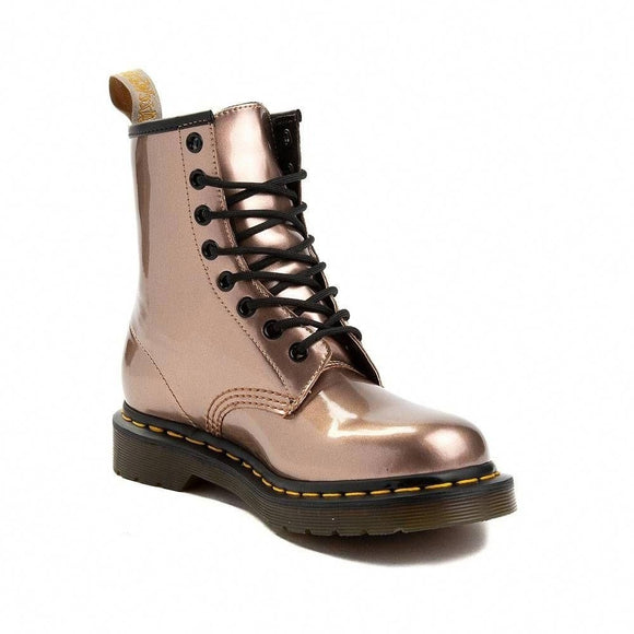 1460 Vegan Rose Gold Boots