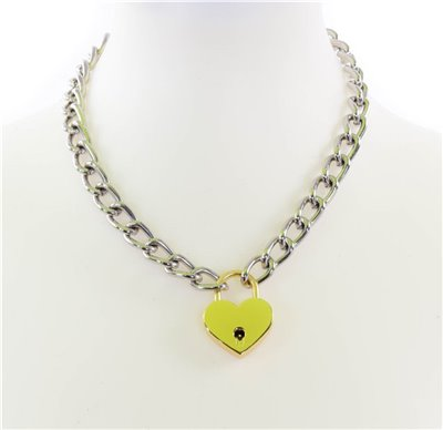 Love Lock Necklace - Gold