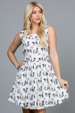 Le Chat Sleeveless Dress