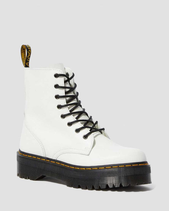White Jadon Platform Boot