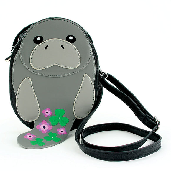 MANATEE VINYL BAG GREY