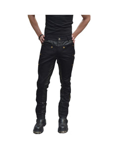 Black Steampunk Pants
