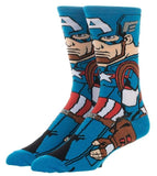 Captain America Character Socks