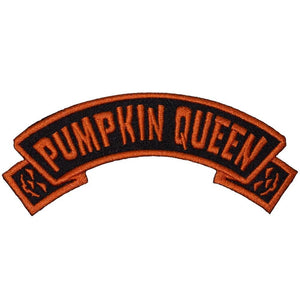 Pumpkin Queen Arch Patch