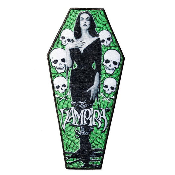 Vampira Coffin Patch