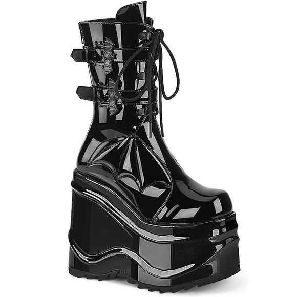 Wave Patent Platform Boot