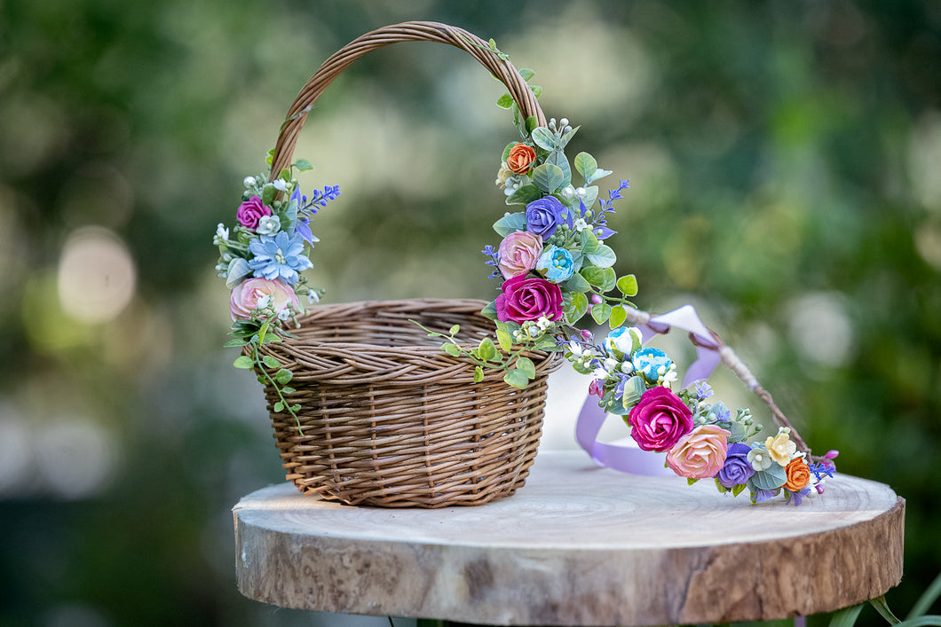 Floral basket - Eve