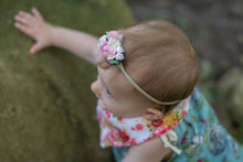 Load image into Gallery viewer, Floral headband - Rosie