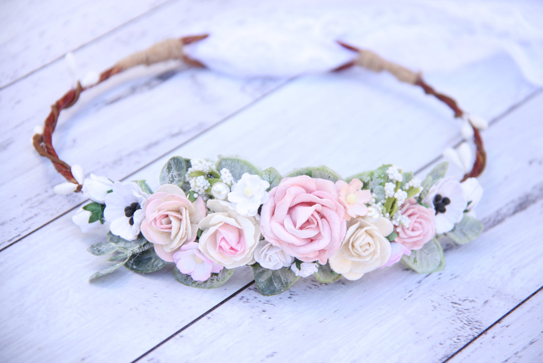Amelia flower crown