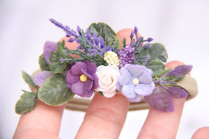 Dolly headband - Violet