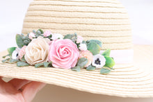 Load image into Gallery viewer, Floral hat - Anna