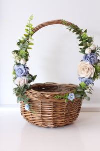 Flower Basket - Bluebell