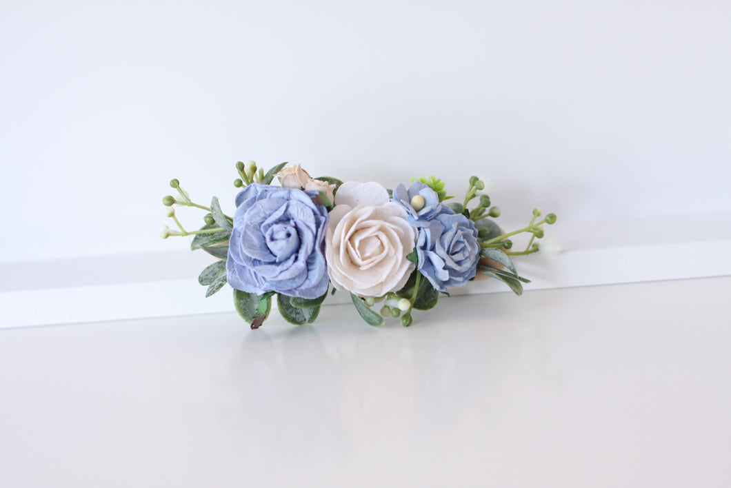 Floral headband - Bluebell