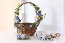 Load image into Gallery viewer, Flower Basket - Bluebell