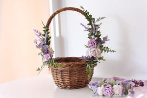 Flower Basket - Violet