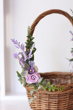 Load image into Gallery viewer, Flower Basket - Violet