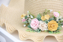 Load image into Gallery viewer, Floral Hat - Spring has Sprung