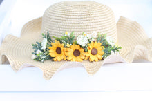 Load image into Gallery viewer, Floral hat - Summer Sun